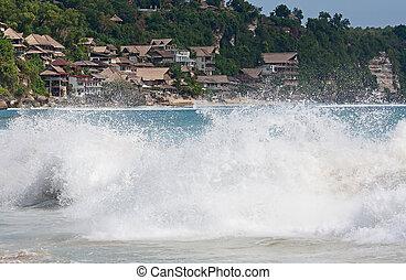 beautiful beach - beautiful balinese Dreamland beach (One of...