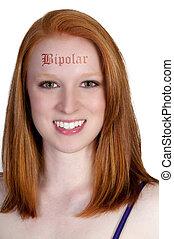 Beautiful Bipolar Woman