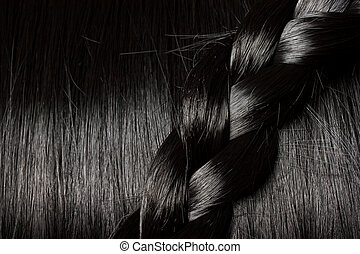 Beautiful black hair with braid - Beautiful healthy black...