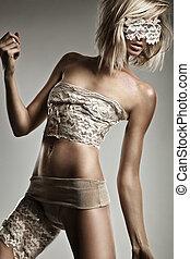 beautiful blond lady