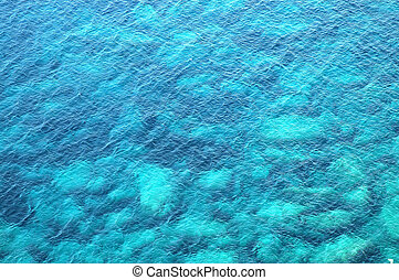 Beautiful blue sea background