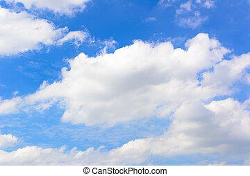 Beautiful blue sky 3