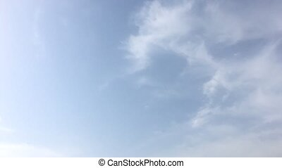 beautiful blue sky with clouds background.Sky clouds.Sky...