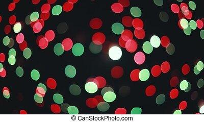 Beautiful blur fireworks. Colorful bright blurred...