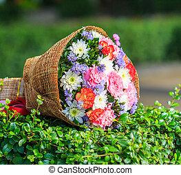 beautiful bouquet flowers