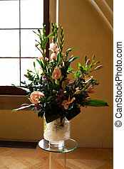 beautiful bouquet of flowers in a vase