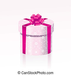 Christmas gift - Beautiful box with a Christmas gift