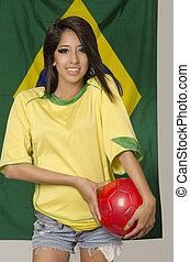 Beautiful Brazil soccer football fa