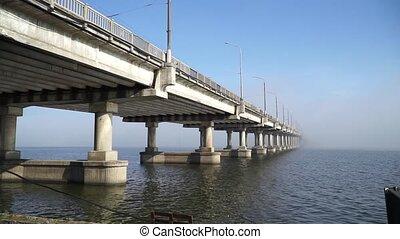 Beautiful bridge over the river
