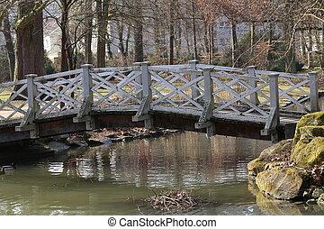 Beautiful bridges for pedestrians