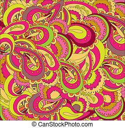 Beautiful bright vector pattern