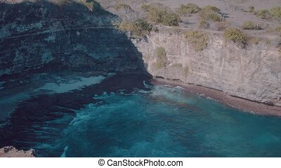 Beautiful Broken Beach in Nusa Penida, Bali, Indonesia
