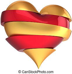 Beautiful broken heart shape - Broken heart collected from...