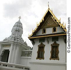 Beautiful building at the Grand Palace, Bangkok, Thailand.