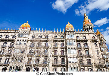 Beautiful Building in Barcelona
