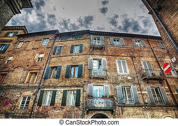 beautiful building in Siena