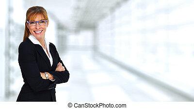 Beautiful business lady.
