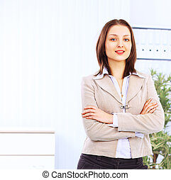Beautiful businesswoman