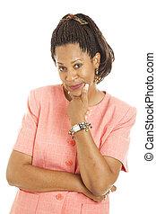 Beautiful Businesswoman - Skeptical