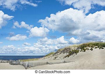 Beautiful Cape Cod beach, Provincet