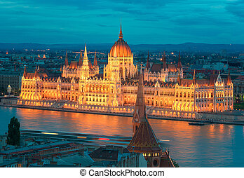 Beautiful Capital City of Budapest in Hungary - Budapest is...