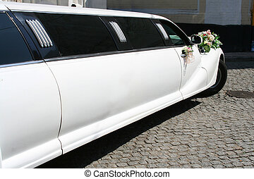 Just Married limousine - Beautiful car - Just Married...