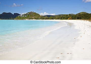 Beautiful Caribbean Beach, Antigua