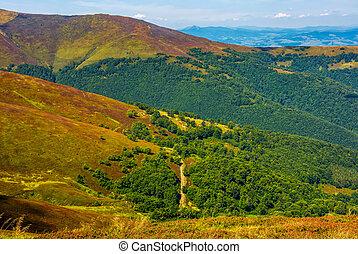 beautiful Carpathian Mountain Range - Carpathian Mountain...