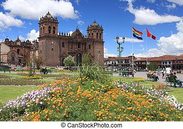 Cathedral in Cusco, Peru