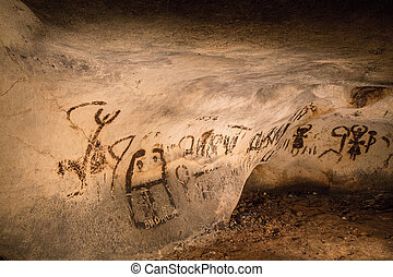 Beautiful cave drawings - Beautiful cave paintings dating...