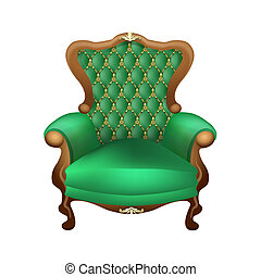 chair - beautiful chair with a beautiful upholstered in...