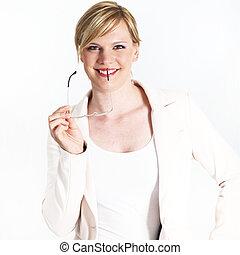 Beautiful charming professional woman