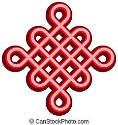 Beautiful Chinese knot