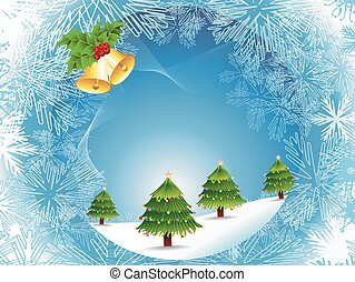 Beautiful Christmas Abstract design