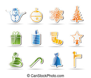 Beautiful Christmas And Winter Icon
