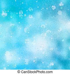 Beautiful christmas bokeh background lights. EPS 8