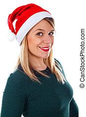 Beautiful Christmas-lady