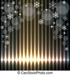 Beautiful christmas lights background