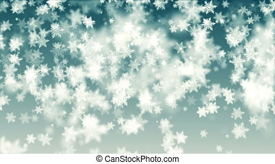 Beautiful Christmas snowflakes