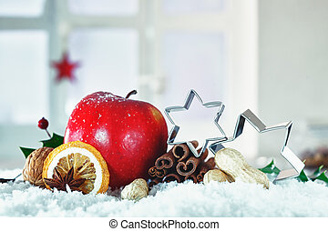 Beautiful Christmas still life