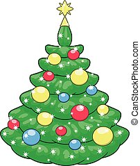 Beautiful Christmas tree 2