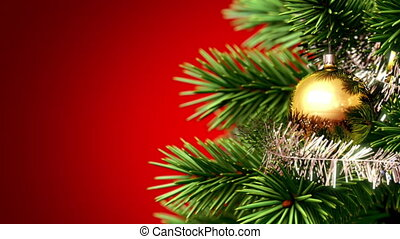 beautiful Christmas tree background