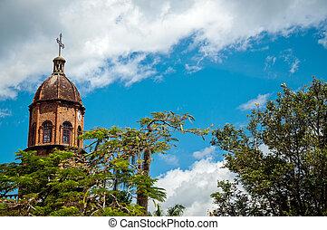Beautiful Church and Blue Sky
