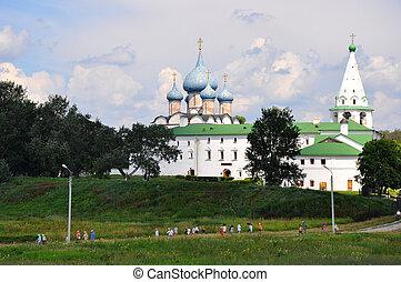 churchs in suzdal in russia - Beautiful churchs in suzdal in...