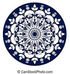 beautiful circular background