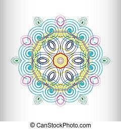 Beautiful circular pattern for your design
