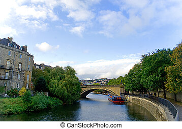 Beautiful city of Bath, North East Somerset.