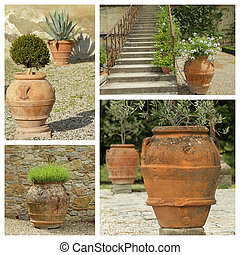 beautiful classic garden planters collection - images from Tusca