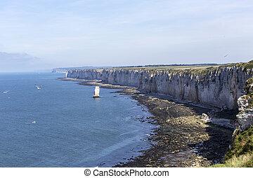 Beautiful cliff of Etretat