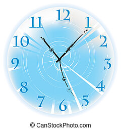 Beautiful clock